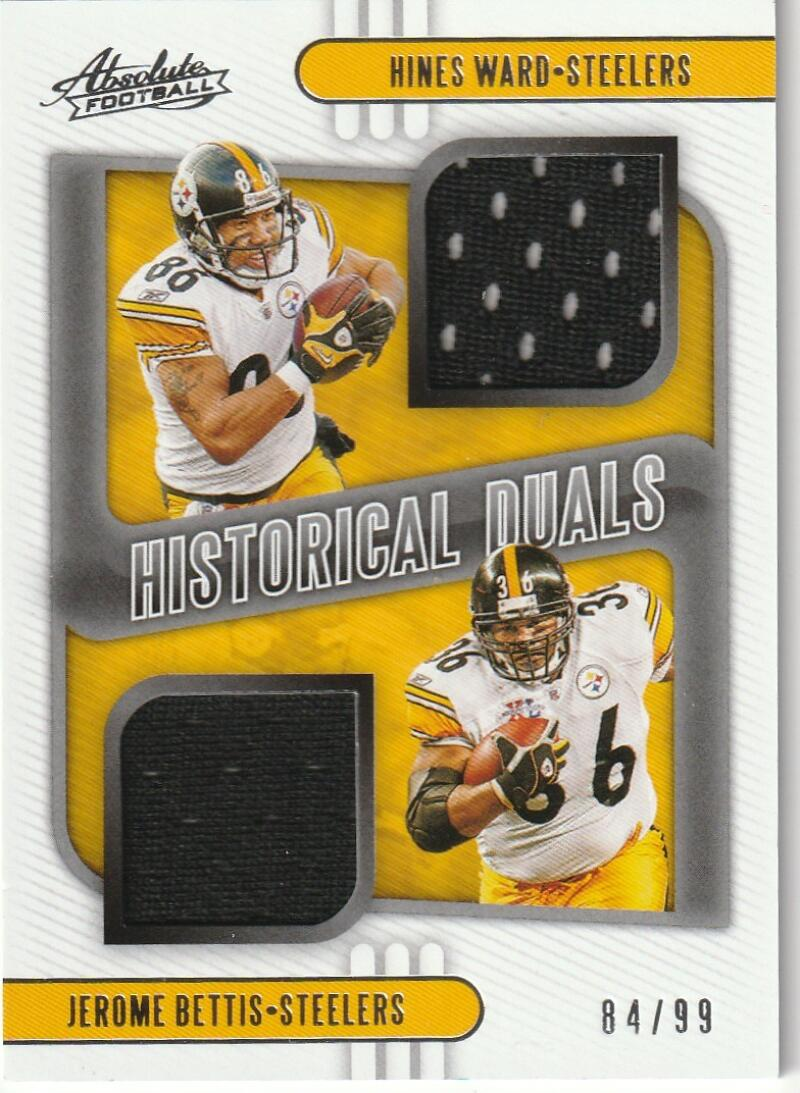 2020 Panini Absolute Historical Duals Relics
