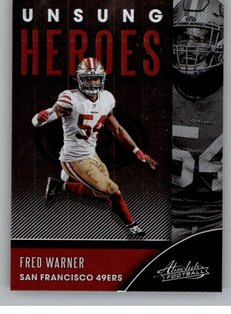 2020 Panini Absolute Unsung Heroes