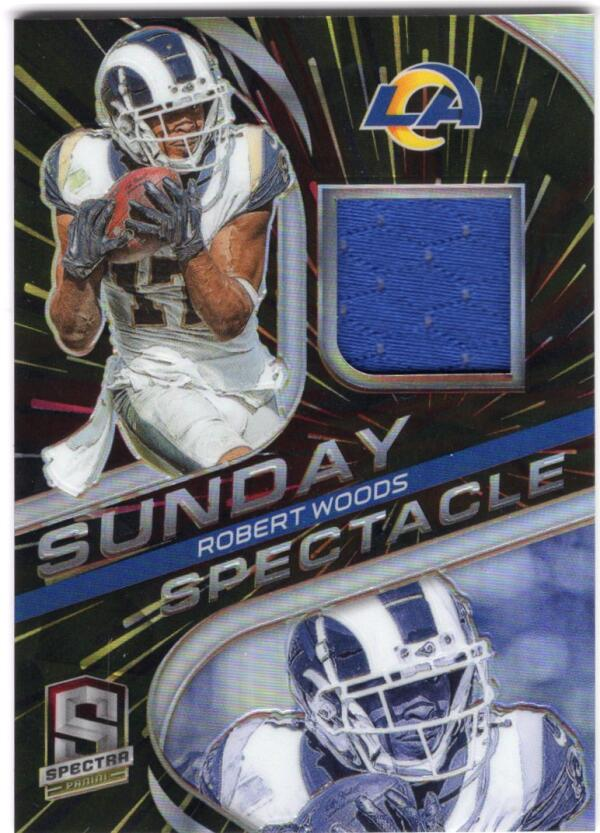 2020 Panini Spectra Sunday Spectacle Hyper