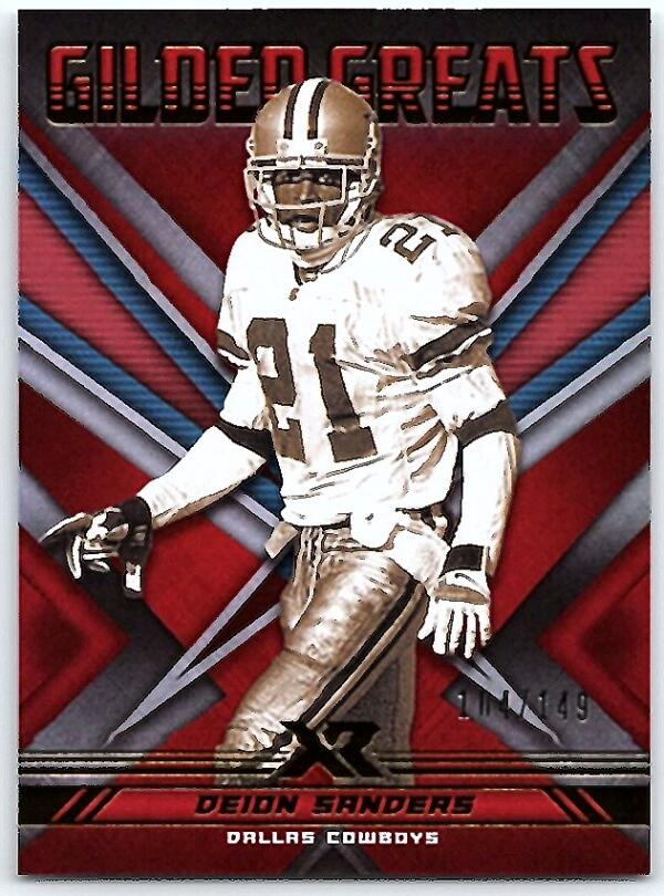 2020 Panini XR Gilded Greats Red