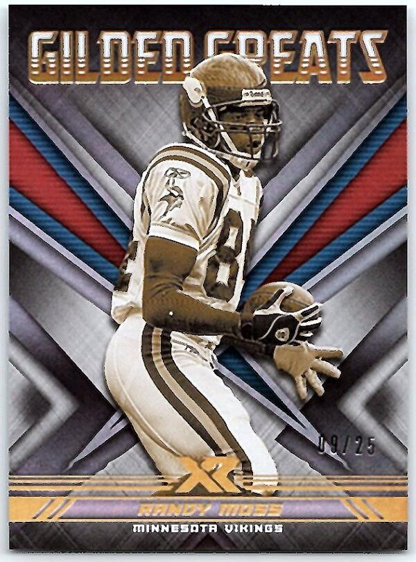 2020 Panini XR Gilded Greats White