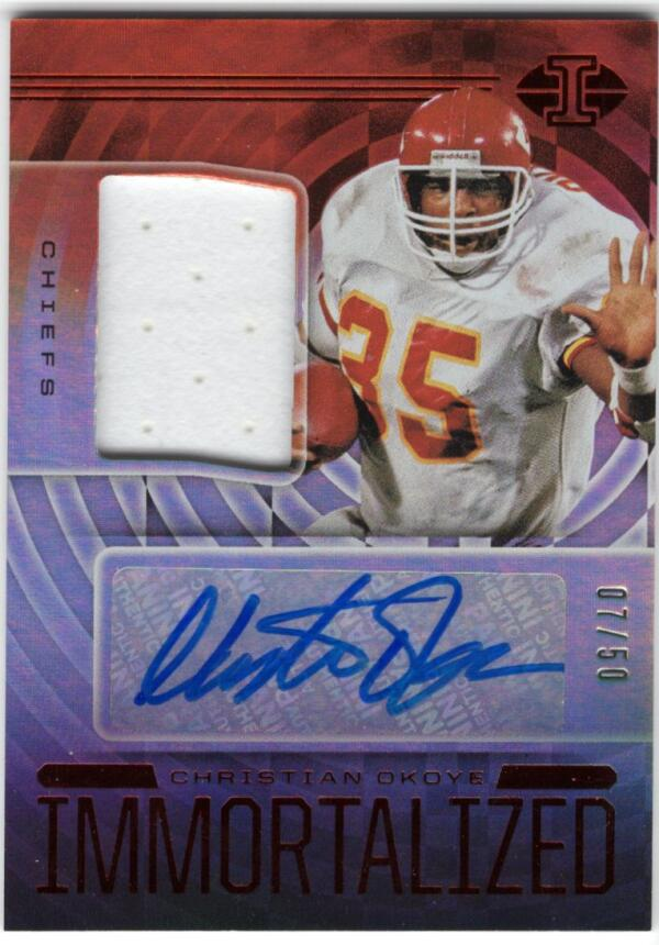 2020 Panini Illusions Immortalized Jersey Autographs Red