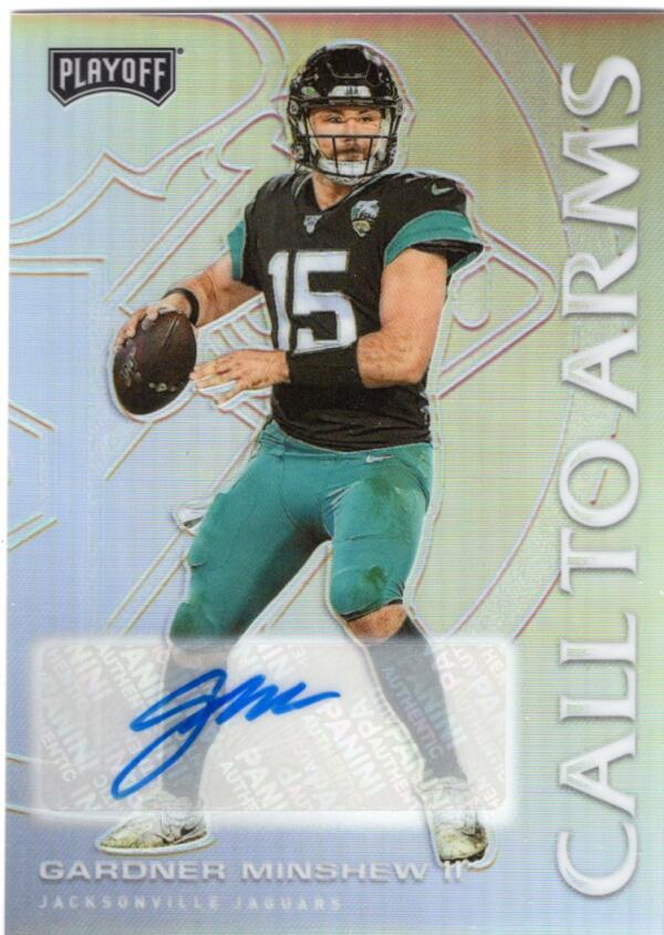 2020 Panini Playoff Call to Arms Signatures
