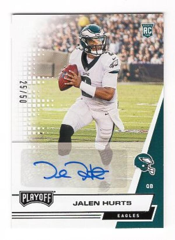 2020 Panini Playoff Rookie Autograph Variations