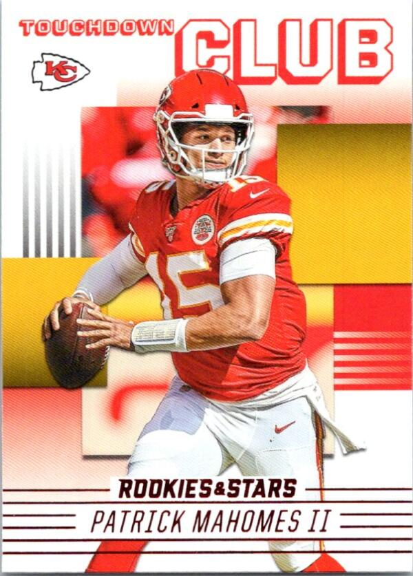 2020 Panini Rookies and Stars Touchdown Club