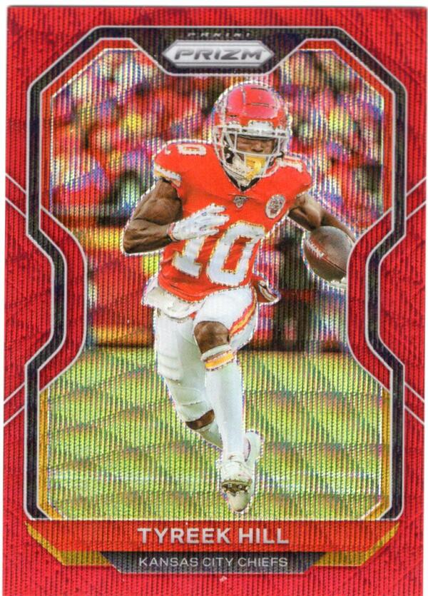 2020 Panini Prizm Prizms Red Wave