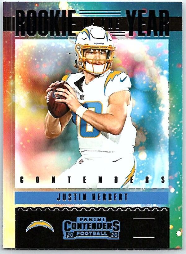 2020 Panini Contenders Rookie of the Year Contenders