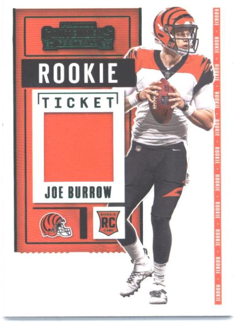 2020 Panini Contenders Rookie Ticket Swatches