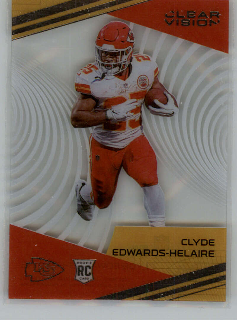 2020 Panini Chronicles Clear Vision Rookies