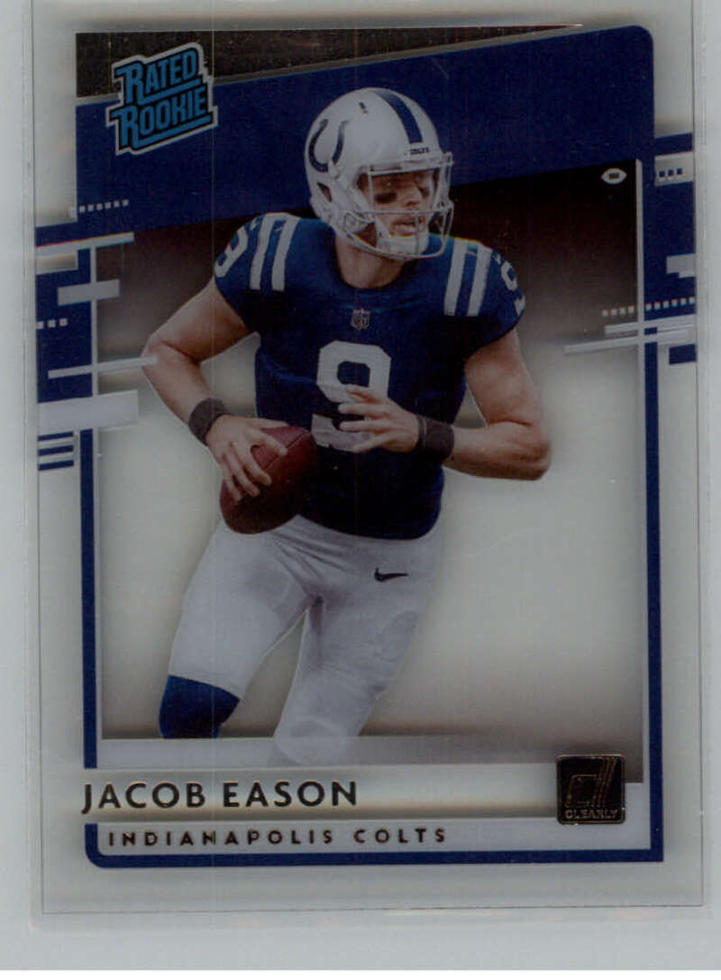 2020 Panini Chronicles Clearly Donruss Rated Rookies