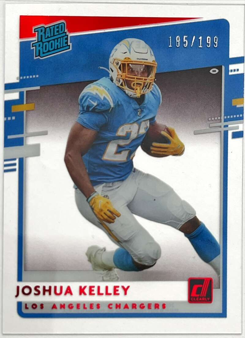 2020 Panini Chronicles Clearly Donruss Rated Rookies Red