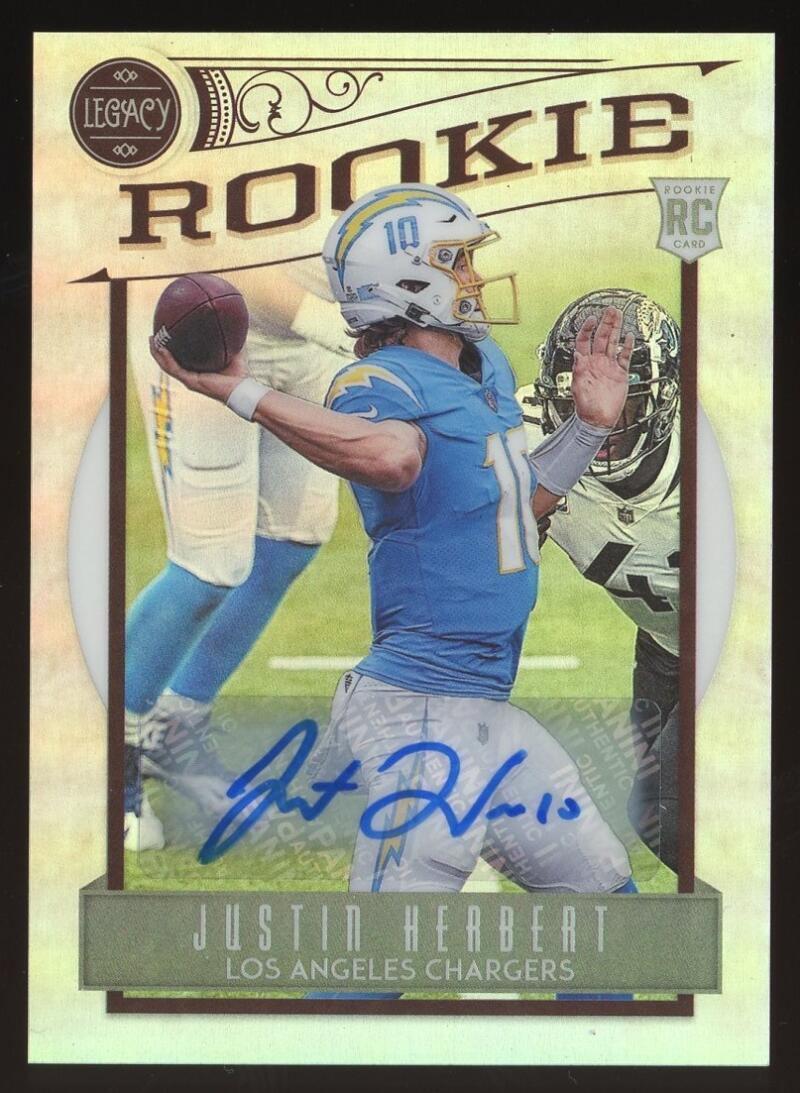 2020 Panini Chronicles Legacy Update Rookies Signatures