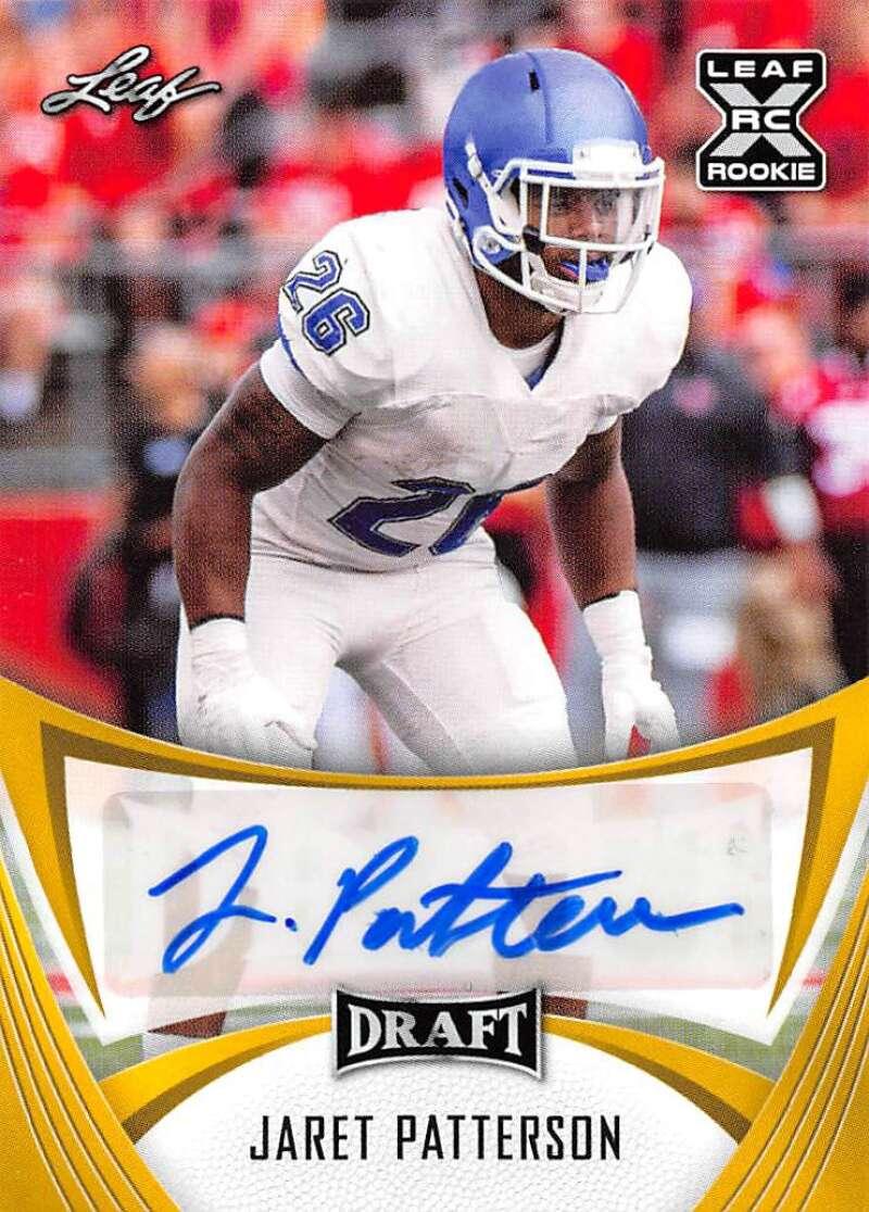 2021 Leaf Draft Autographs Gold