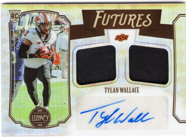 2021 Panini Legacy Futures Dual Patch Autographs Silver