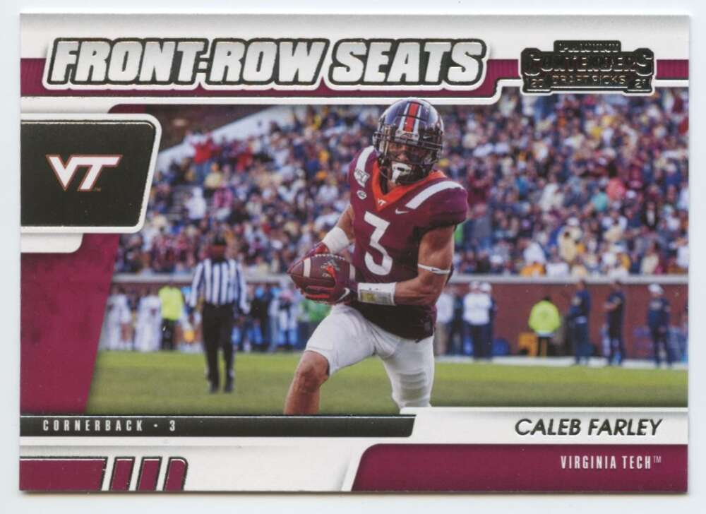 2021 Panini Contenders Draft Front-Row Seats