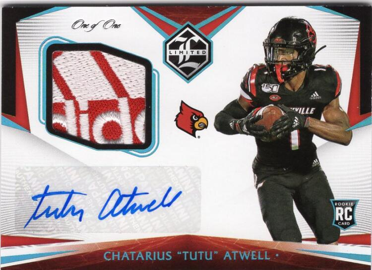 2021 Panini Chronicles Draft Picks Limited Rookie Patch Autograph Brand Logo
