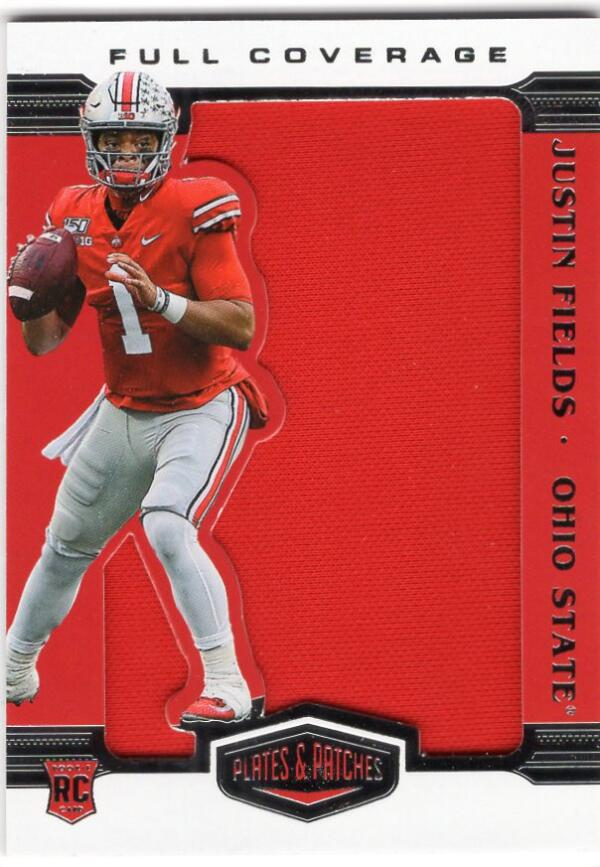2021 Panini Chronicles Draft Picks Plates and Patches Full Coverage