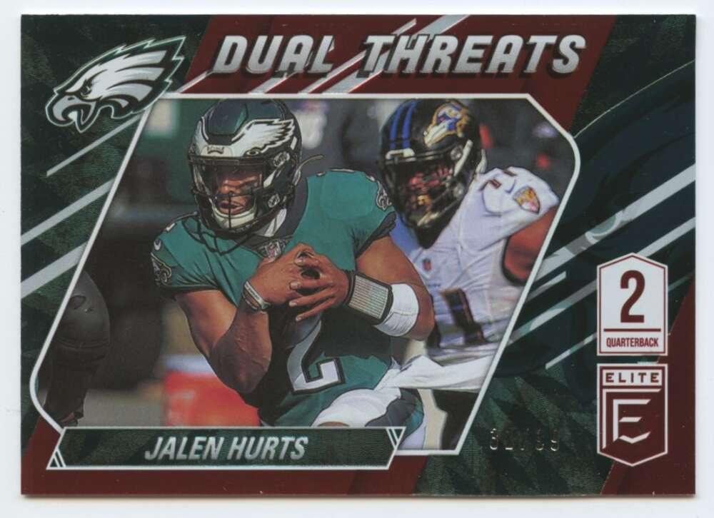 2021 Donruss Elite Dual Threats Red