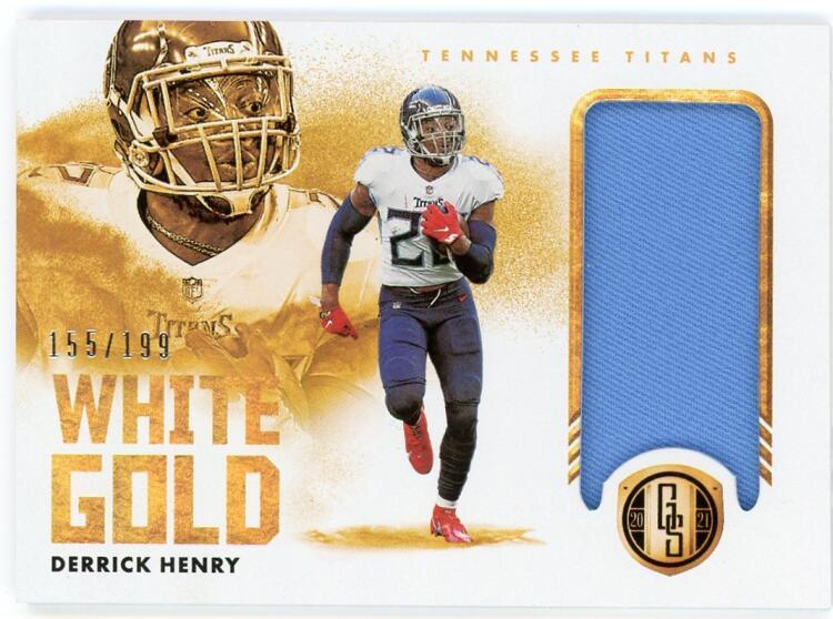 2021 Panini Gold Standard White Gold Relics