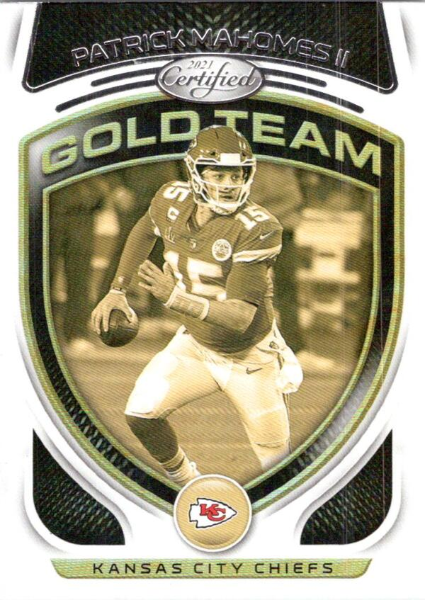 2021 Panini Certified Gold Team