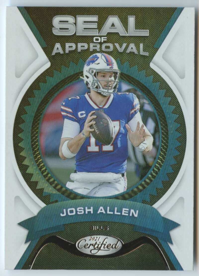 2021 Panini Certified Seal of Approval