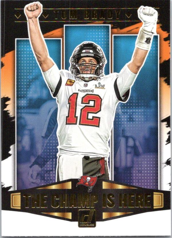 2021 Donruss  Champ is Here