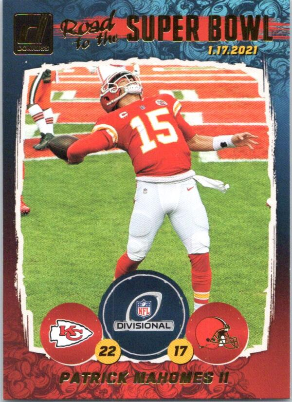2021 Donruss  Road to the Super Bowl Divisional Round