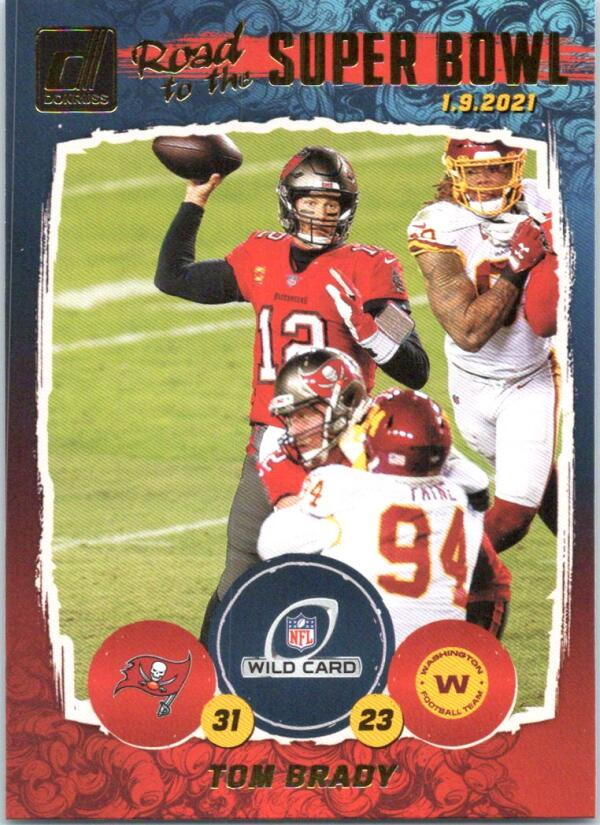 2021 Donruss  Road to the Super Bowl Wild Card