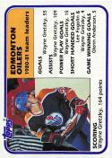 1981-82 Topps #52 Wayne Gretzky TL EX+