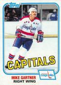 1981-82 Topps #E117 Mike Gartner EX+