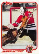 1981-82 Topps #W126 Tony Esposito NM Near Mint