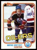 1981-82 Topps #16 Wayne Gretzky EX+