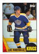 1987-88 Topps #42 Luc Robitaille RC Rookie Los Angeles Kings