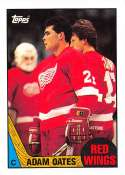 1987-88 Topps #123 Adam Oates RC Rookie Detroit Red Wings