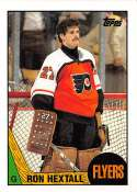 1987-88 Topps #169 Ron Hextall RC Rookie Philadelphia Flyers