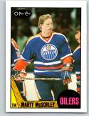1987-88 O-Pee-Chee #205 Marty McSorley RC Rookie Edmonton Oilers