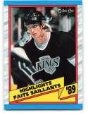 1989-90 O-Pee-Chee #325 Wayne Gretzky HL NM