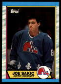 1989-90 Topps #113 Joe Sakic NM RC Rookie