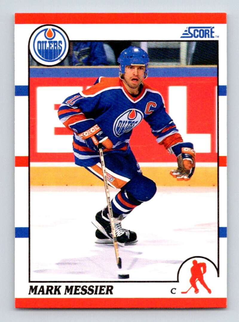 1990-91 Score #100 Mark Messier NM