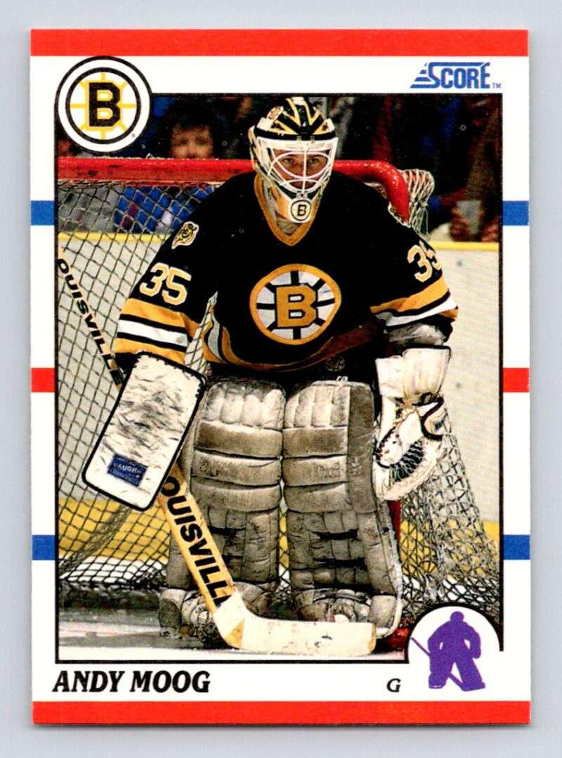 1990-91 Score #140 Andy Moog NM