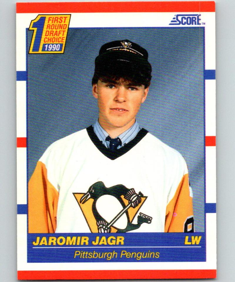 1990-91 Score #428 Jaromir Jagr NM RC Rookie