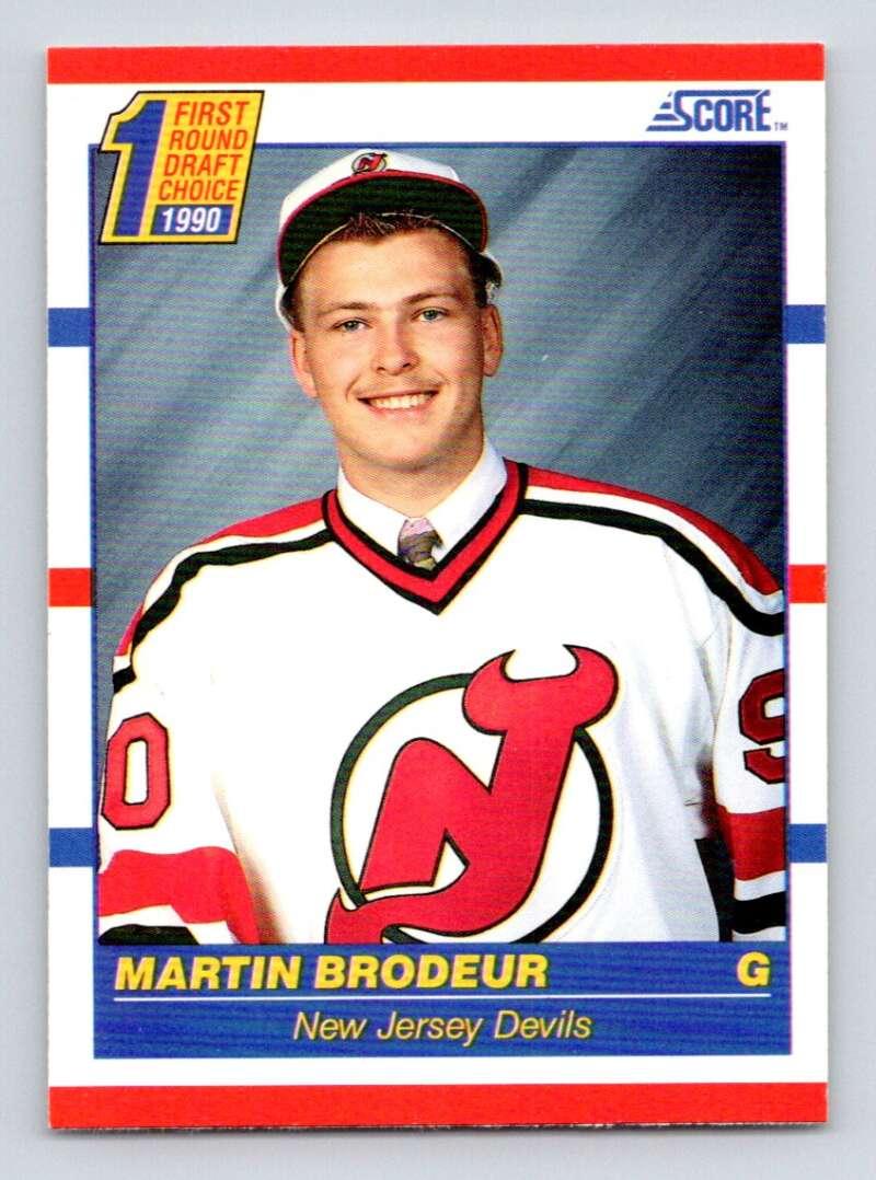1990-91 Score #439 Martin Brodeur NM RC Rookie