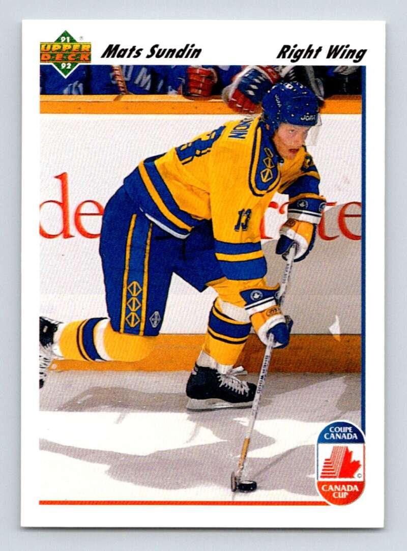 1991-92 Upper Deck #31 Mats Sundin