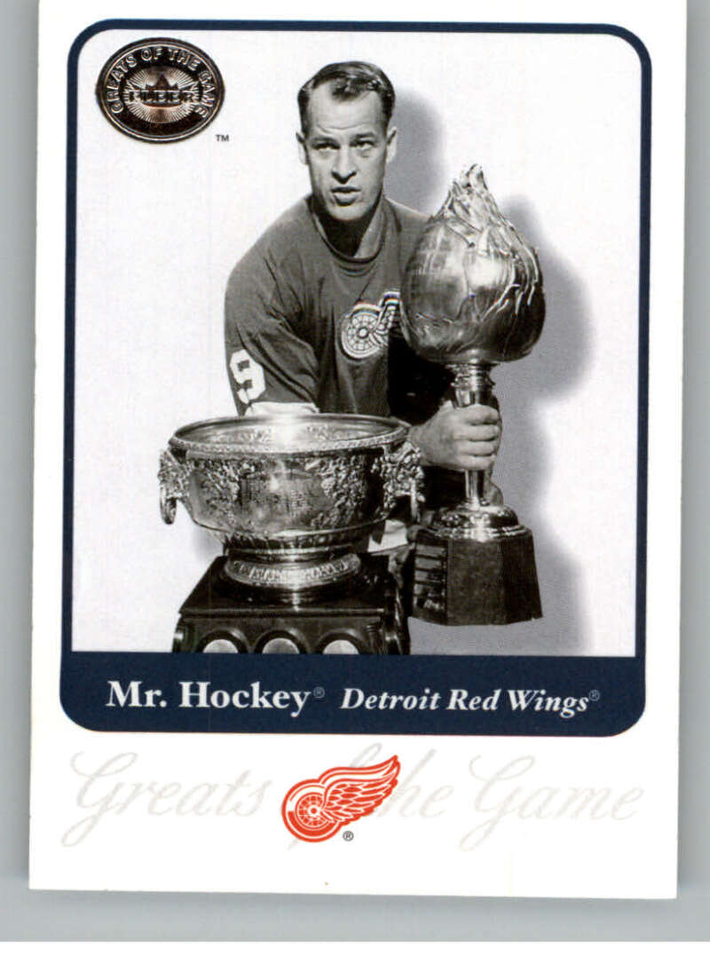 2001-02 Fleer Greats of the Game #1 Gordie Howe NM