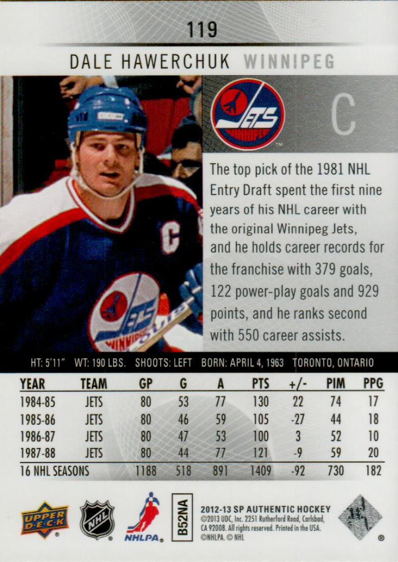 2012-13-Upper-Deck-SP-Authentic-Hockey-Card-Singles-Complete-Your-Set-You-Pick miniature 52