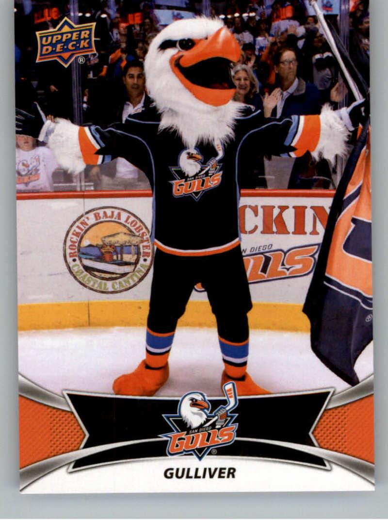 2016-17 Upper Deck AHL Team Mascots #TM20 Gulliver San Diego Gulls   Official American Hockey League UD Trading Card