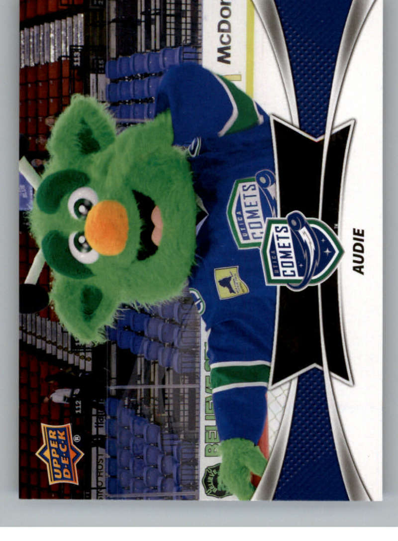 2016-17 Upper Deck AHL Team Mascots #TM28 Audie Utica Comets   Official American Hockey League UD Trading Card