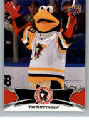 2016-17 Upper Deck AHL Team Mascots #TM29 Tux The Penguin Wilkes-Barre Scranton Penguins   Official American Hockey League UD Trading Card