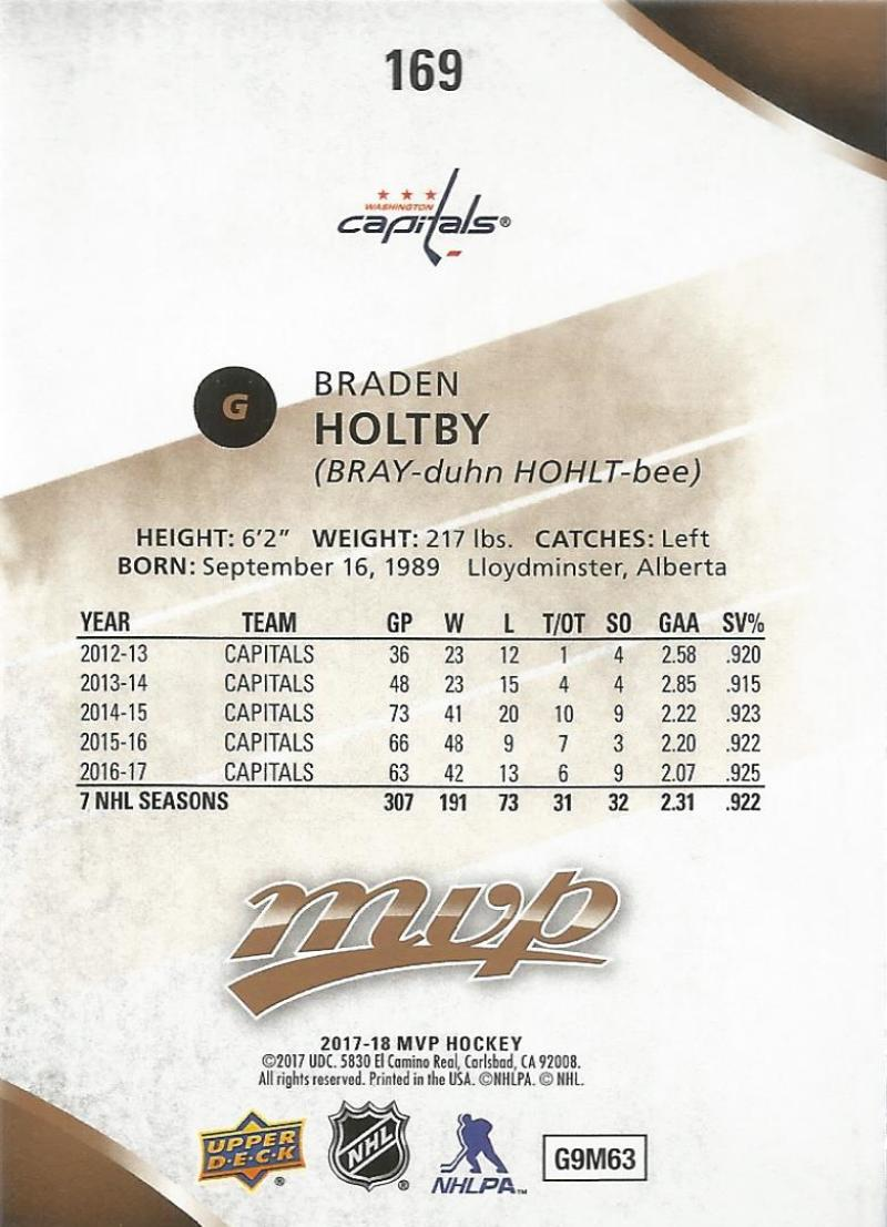 2017-18-Upper-Deck-MVP-Hockey-Base-Set-Cards-Choose-From-Card-039-s-1-200 thumbnail 333