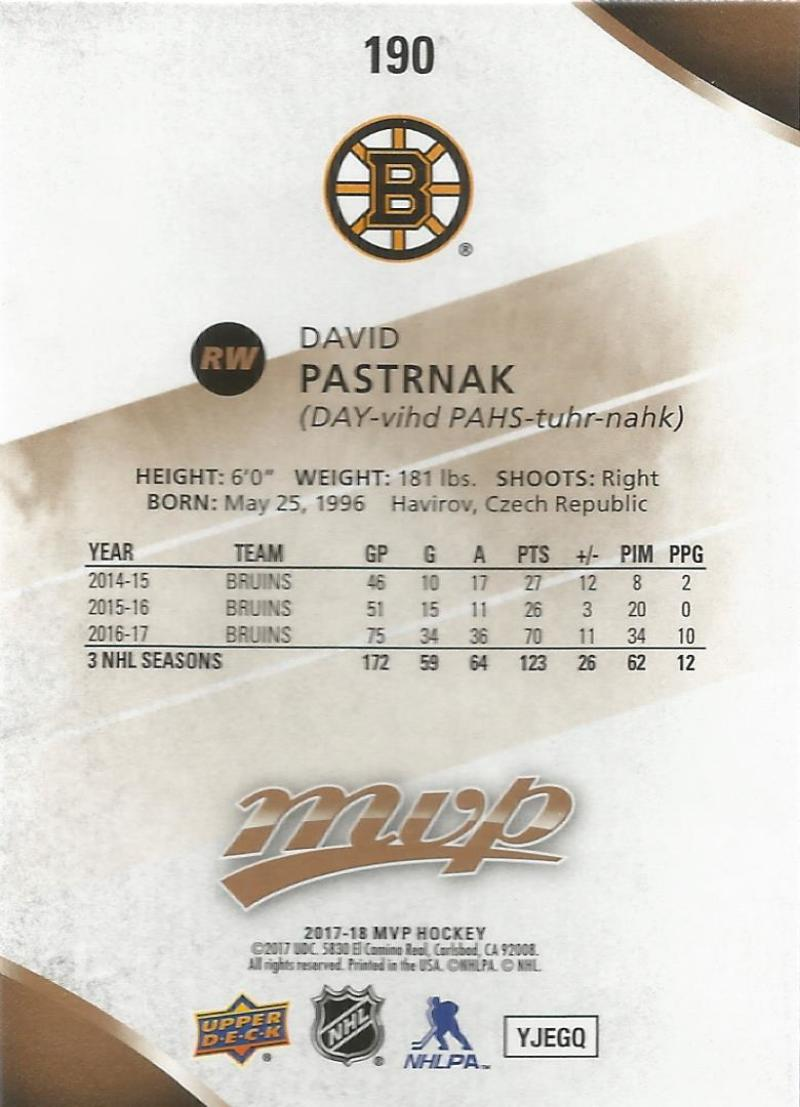 2017-18-Upper-Deck-MVP-Hockey-Base-Set-Cards-Choose-From-Card-039-s-1-200 thumbnail 375